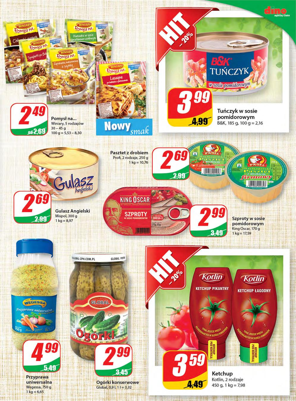 Gazetka DINO POLSKA S.A. nr 7 od 2015-06-10 do 2015-06-16