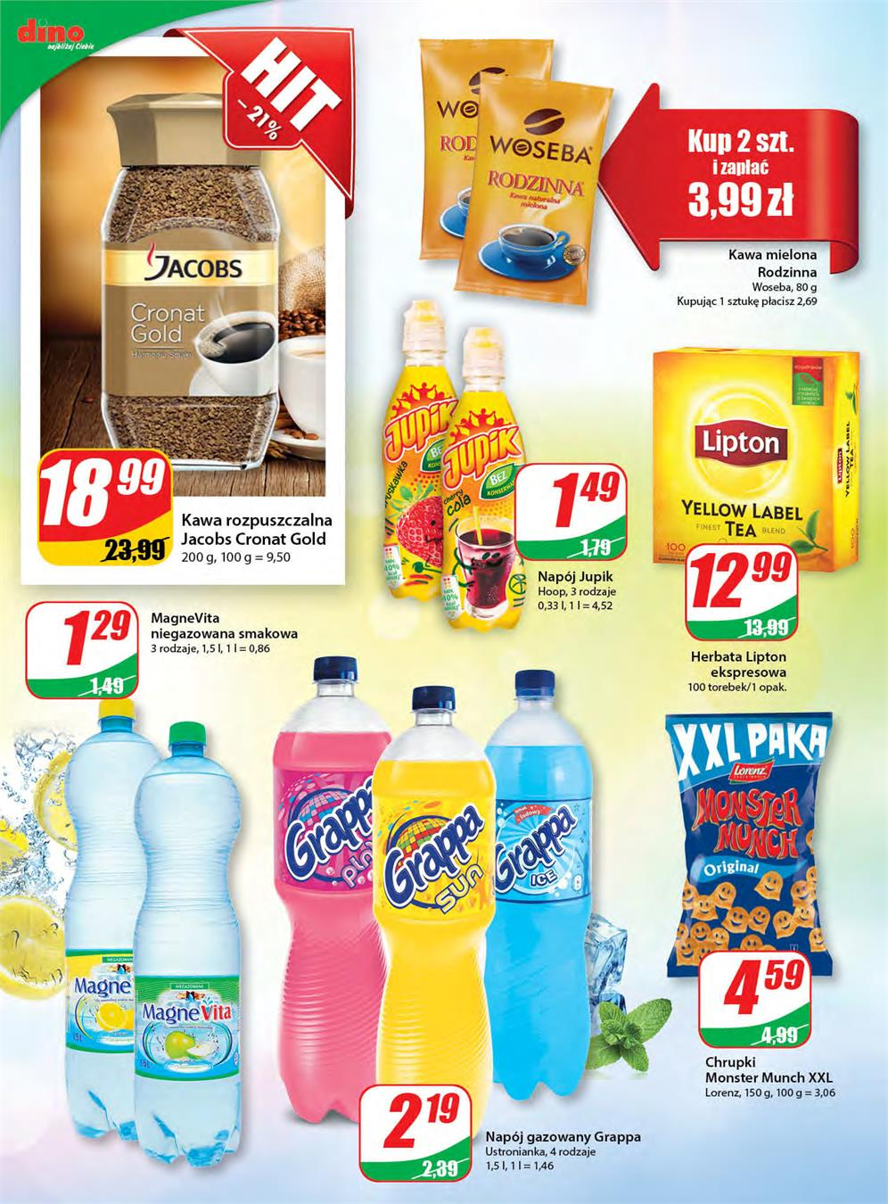 Gazetka DINO POLSKA S.A. nr 8 od 2015-06-10 do 2015-06-16