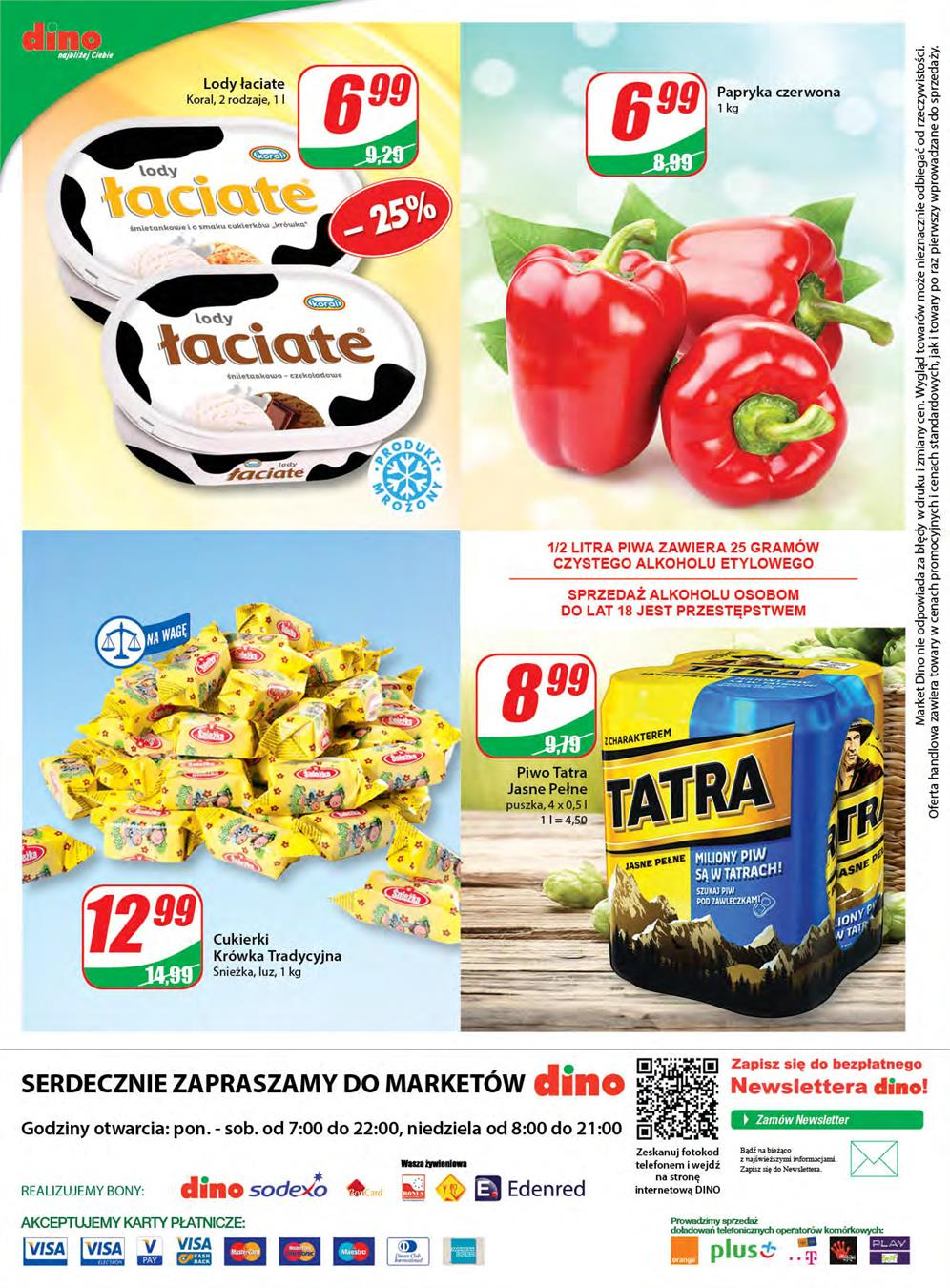 Gazetka DINO POLSKA S.A. nr 12 od 2015-06-10 do 2015-06-16
