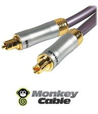 Monkey Cable Interkonekt Optyczny Toslink Monkey Cable MCYOPT1 Clarity - 1m