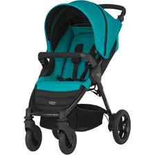 Britax & Romer B-Motion 4 Lagoon Green Spacerowy