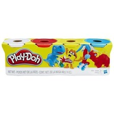 Hasbro Playdoh 4Pack Basic Colorsblue/Yellow/Red B6508EL2