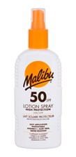 Malibu Lotion Spray SPF50 do opalania 200ml