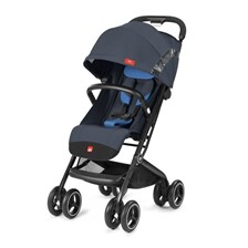 Cybex Qbit + All Terrain Night Blue Spacerowy