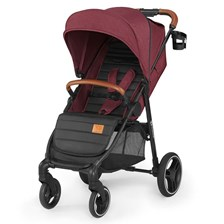 Kinderkraft Grande 2020 Burgundy Spacerowy
