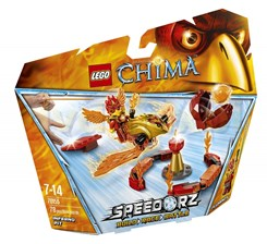 Lego Legends of Chima Płonący Krąg 70155