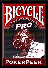 Bicycle PRO RED  BLUE MIX DECK