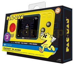 Pocket Player Pac Man 3In1
