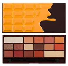 Makeup Revolution I Heart Makeup Orange Chocolate Paleta cieni do powiek 22g