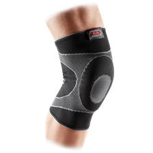 Opaska elstyczna na kolano 5125 Knee Sleeve 4-Way Elastic Gel Buttress McDavid