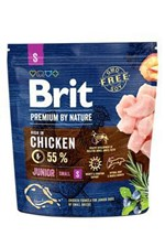 Brit Premium By Nature Junior Small 1kg