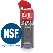 CX-80 Silikon Spray 500 ml Duo Spray