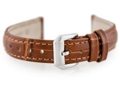 30d0b8935cae0f Tayma Pasek skórzany do zegarka W64 - brązowy - 16mm (TAYMA10177)