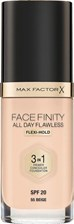 Max Factor Face Finity All Day Flawless Foundation 3in1 Podkład 55 Beige 30ml