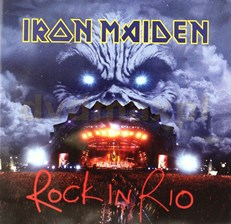 IRON MAIDEN - ROCK IN RIO  (CD)