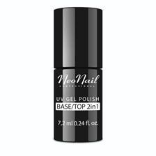 NeoNail 2w1 BASE TOP do manicure hybrydowego 7,2ml