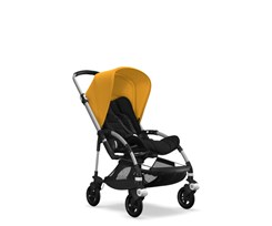 Bugaboo Bee 5 Alu Black Sunrise Yellow Spacerowy