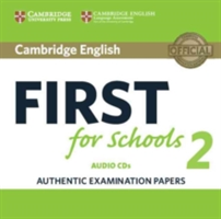 Cambridge English First for Schools 2 2CD