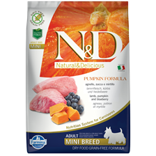 Farmina N&d Gf Pumpkin Lamb&blueberry Adult Mini 2,5kg