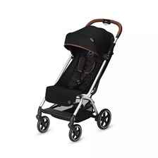 Cybex Eezy S + Denim Lavastone Black Spacerowy