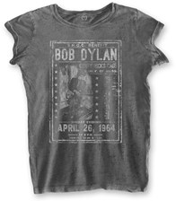 Bob Dylan Fashion Tee Curry Hicks Cage (Burn Out) M