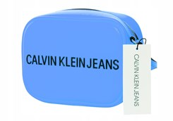 Calvin Klein Torebka Damska Sculpted Camera Blue
