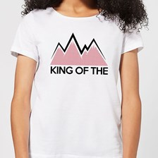 Summit Finish King Of The Mountains Women's T-Shirt - White - 3XL - White