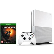 Microsoft Xbox One S 1TB Biały + Shadow of the Tomb Raider