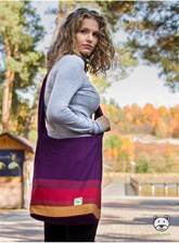 Torba Panama Purple Love