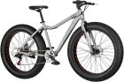 Indiana Fat Bike 26 7S Srebrny 2019