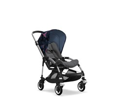 Bugaboo Bee 5 Alu Grey Melange Birds Spacerowy