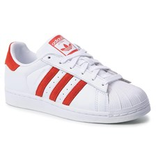 Buty adidas - Superstar EE9237 Ftwwht/Actred/Ftwwht