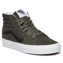 Sneakersy VANS - Sk8-Hi VN0A4BV6XKD1 (Suede) Forest Night/Trwht