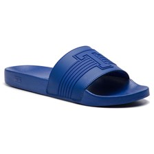 Klapki TOMMY HILFIGER - Th Seasonal Pool Slide FM0FM02077 Mazarine Blue 440