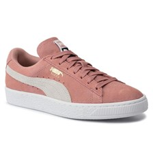Sneakersy PUMA - Suede Classic Wn's 355462 56 Cameo Brown/Puma White