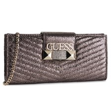 Torebka GUESS - Jazzie (Mg) Evening Bags HWMG74 47730 PEWTER