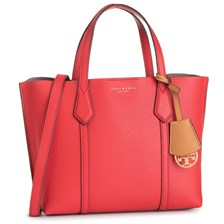 Torebka TORY BURCH - Perry Smal Triple - Compartment Tote 56249 Brilliant Red 612