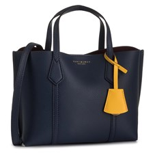 Torebka TORY BURCH - Perry Small Triple-Compartment Tote  Royal Navy 403