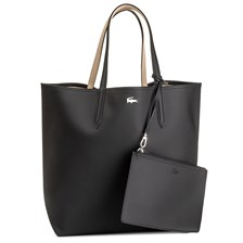 Torebka LACOSTE - L Shopping Bag NF2143AA  Black Warm Sand A91