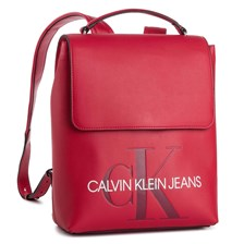 Plecak CALVIN KLEIN JEANS - Sculpted Monogram Flap Backpack K60K605538  649