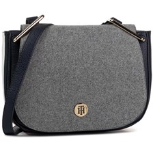 Torebka TOMMY HILFIGER - Th Core Saddle Bag Melton AW0AW07416 0IV
