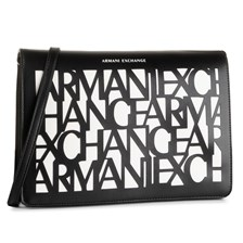 Torebka ARMANI EXCHANGE - 942622 9A070 42520 Black/White