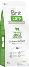 Brit Care Grain Free Adult Large Salmon & Potato 12Kg
