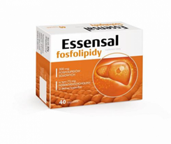 Essensal Fosfolipidy 40 kaps