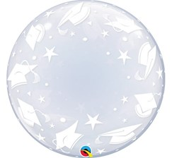Balon Foliowy 22 Ql Bubble Deco Graduation Caps (48565)
