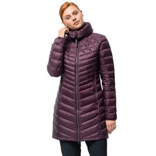 Jack Wolfskin Płaszcz RICHMOND COAT burgundy
