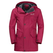 Kurtka BANNER JACKET azalea red