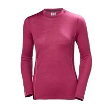 39e37210fd3de0 Helly Hansen Merino Light Long Shirt Women Plum