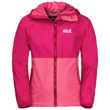 Kurtka RAINY DAYS GIRLS tropic pink
