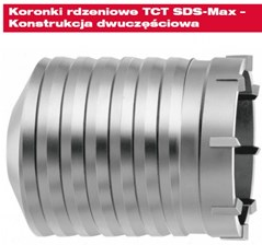 Milwaukee Otwornica koronk.tct SDS-max 40mm 4932245992